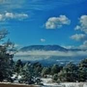 Colorado Winter Art Print