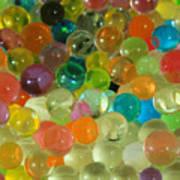 Colored Balls Art Print