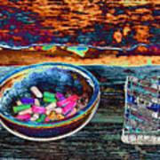 Colored Chalk Art Print