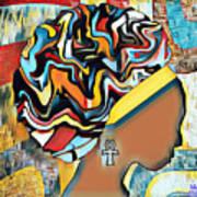 Colorfro Art Print