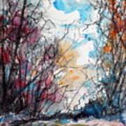 Colorful Autumn Art Print