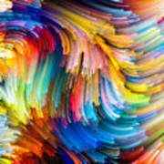 Colorful Beauty Art Print
