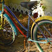 Colorful Bike Art Print
