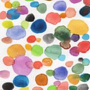 Colorful Bubbles Art Print