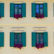 Colorful Building Art Print
