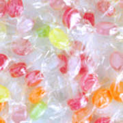 Colorful Candies Art Print