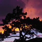 Colorful Colorado Sunset Art Print