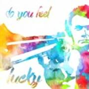 Colorful Dirty Harry Art Print
