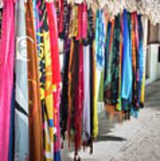 Colorful Dominican Garments Art Print