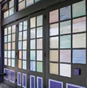 Colorful Doors Art Print