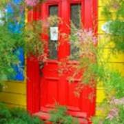 Colorful Entrance ... Art Print
