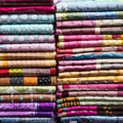 Colorful Garment Art Print