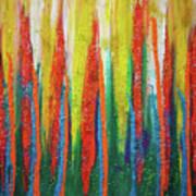 Colorful Grace Art Print