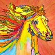Colorful Horse Art Print