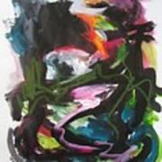 Colorful Landscape1125 Art Print