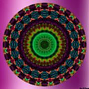 Colorful No. 4 Mandala Art Print
