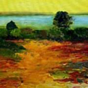 Colorful Prairie Art Print