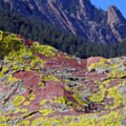 Colorful Rock Mesatrail Art Print