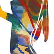 Colorful Shape Art Print