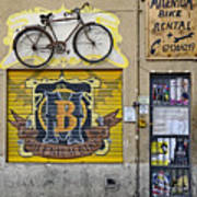 Colorful Signage In Palma Majorca Spain Art Print