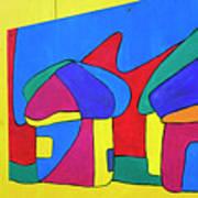 Colorful Street Art Art Print