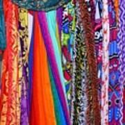 Colorful Tapestries Art Print