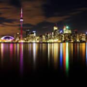 Colorful Toronto Print by Matt  Trimble