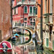 Colorful Venice  Art Print