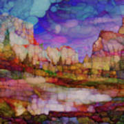 Colorful Vista Art Print