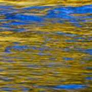 Colorful Water Surface Art Print