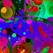 Colorful World Of A Fish Art Print