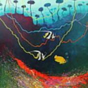 Colorida Naturaleza Art Print