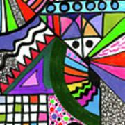 Colors Gone Wild Art Print