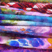 Colors Material Horizontal Pa 02 Art Print