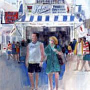Colors Of A Summer - Jersey Shore Art Print