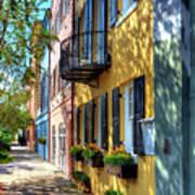 Colors Of Charleston 5 Art Print by Mel Steinhauer