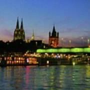 Colors Of Cologne Art Print