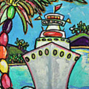 Colors Of Cruising Art Print
