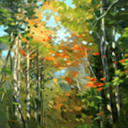 Colors Of Early Fall  Art Print