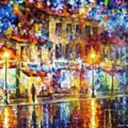 Colors Of Emotions - Palette Knife Oil Painting On Canvas By Leonid Afremov Art Print