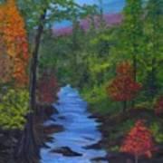 Colors Of The Blue Ridge Art Print