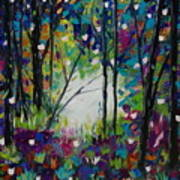 Colors Of The Forest Art Print