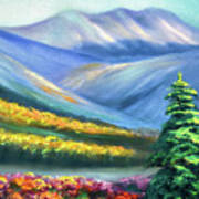 Colors Of The Mountains 2 Art Print