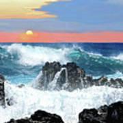 Colors Of The Ocean Art Print