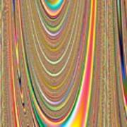 Colors Of The Orbs Art Print