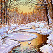 Colors Of Winter Art Print