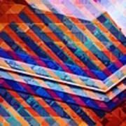 Colors Play Art Print