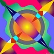 Colorscape 1-5 Art Print