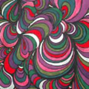 Colorway 5 Art Print