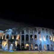 Colosseum By Night II Art Print